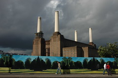 mixed weather (hedgiecc) Tags: london ruin pinkfloyd presents albumcover battersea derelict batterseapowerstation ser