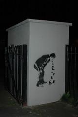 Sick Money (mr_la_rue) Tags: street uk urban streetart art fun graffiti interesting stencil graf graff sunderland