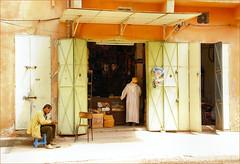 doors............ (atsjebosma) Tags: doors shop open people tones kleuren deuren tdd atsjebosma maroc morocco marokko goulmima