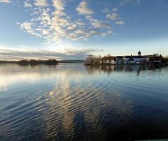 Die Fraueninsel bei Sonnenuntergang - schmacht! (cu♥re di marmo) Tags: chiemsee bavaria bayern water sunset clouds island fraueninsel light