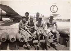 US Army Air Force Photo - Vintage (Tobyotter) Tags: shirtless blackandwhite bw man male men guy military gi usaaf vinyage usarmyairforce