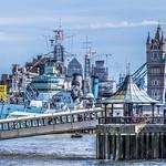 HMS Belfast and Tower Bridge thumbnail
