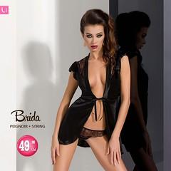 Brida Black Satin Robe + Panties | Lintimo.ch (www.lintimo.ch Dessous) Tags: lintimodessous lingerie lintimolingerie lintimo lingeriemodel lintimoch sexy sexydessous sexylingerie wwwlintimoch womanfashion woman womanmodel model mode