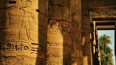 Strong construction (Aadilos) Tags: luxor temple egypt egypte