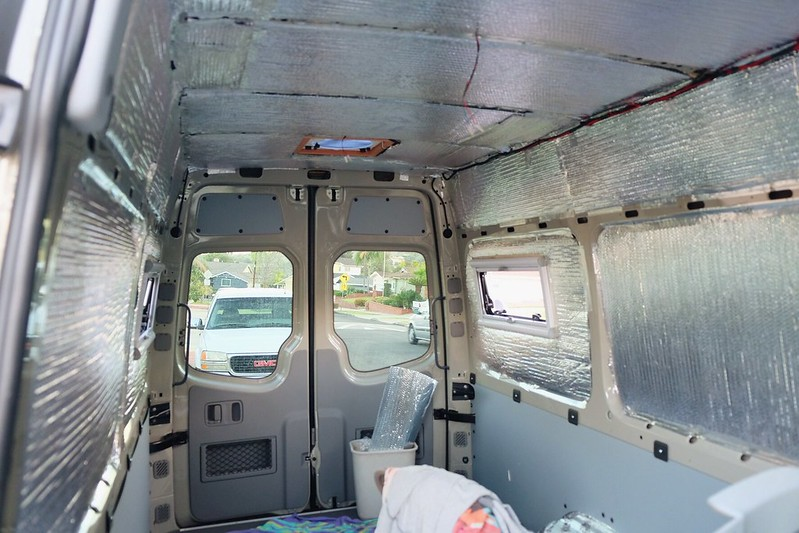 Sprinter Van Build Day 12 042018