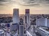 SkyLounge Berlin HDR - Var. 2 (mikehaui60) Tags: olympuspenepm2 pen epm2 mft hdr berlin affinityphoto germany skyscrapers cityscape sunset goldenhour