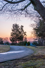 Road of Rest (johnjmurphyiii) Tags: 06416 clouds connecticut cromwell dawn newcemetery originalnef sky spring sunrise tamron18400 usa westcemetery cemetery johnjmurphyiii cloudsstormssunsetssunrises cloudscape weather nature cloud watching photography photographic photos day theme light dramatic outdoor color colour