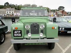 1964 Land Rover (occama) Tags: afp815b 1964 land rover green old car cornwall uk british restored 4x4 rutland plate registration fp