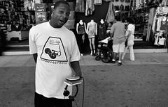 HAWKING THE HIPHOP, Venice Beach, California (lkurnarsky) Tags: hiphop hiphopcrews venice venicebeach boardwalks beach selling aficanamerican culture popularculture music rap rapartists california earningaliving