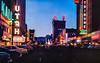Main Street at Night, Salt Lake City (Thomas Hawk) Tags: america mainstreetatnight saltlakecity usa unitedstates unitedstatesofamerica utah vintage neon neonsign postcard fav10 fav25 fav50