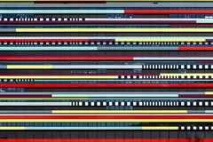 Colours! (Maerten Prins) Tags: nederland netherlands utrecht university campus modern building colors colours lines hogeschool hogeschoolutrecht hu uithof geometry stripes