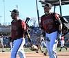 NickAhmed adjust and Daniel (jkstrapme 2) Tags: baseball jock cup bulge crotch adjustment adjust itch