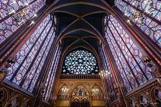 Chapelle Haute, Sainte-Chapelle du Palais, Paris