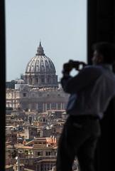 Stolen Rome (stendol [L.B.W.L.]) Tags: stolen rome roma cupola sanpietro dof panorama scatto cellulare italy dallalto dallafinestra tetti romani foto fotografare