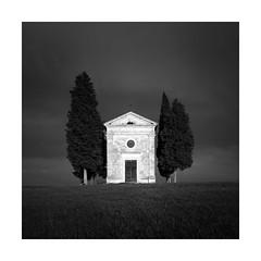 Cappella della Madonna di Vitaleta (Sandra Herber) Tags: italy tuscany vitaletachapel