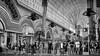 Lineup Downtown Las Vegas (dorameulman) Tags: dorameulman lasvegas nevada downtownlasvegas monochrome blackandwhite streetshot streetscape streetphotography streetscene people haiku canon7dmark11 canon