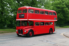 CUV 151C Awaydays ex London Transport RM2151 AEC Routemaster with Park Royal body at Dereham May18 by Steve Maskell (focus- transport) Tags: mid norfolk railway vintage bus coach day 2108 london transport westcilff sea awaydays eastern counties nbc national company peelings lincolnshire road car coachworks nottingham city south notts eagles coaches crosville motor services ipswich borough belfast citybus hutchings cornelius aec routemaster regent park royal bristol relh6g rell vr lodekka volvo b10m olympian plaxton supreme east lancs alexander dennis lancet uf harrington