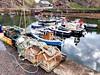 Portknockie harbour (calzer) Tags: phone samsung small rocks portknockie harbour scene view boats quay sunday morning moray coast scotland