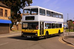 Smart Olympian (Chris Baines) Tags: leyland olympian f509 nje whittlesey fenland busfest