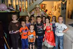 Rapunzel with the Kids (Vegan Butterfly) Tags: kids children people together portrait group rapunzel disney princess fun friends birthday party homeschool homeschooling