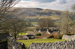 Conistone and Kilnsey (KevHaseldine) Tags: fields canon yorkshire kilnsey conistone crag village roof wall yorkshiredales northernengland dale exploring england nationalpark limestone 1100d 32mm