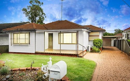 43 Kurrajong Cr, Blacktown NSW 2148