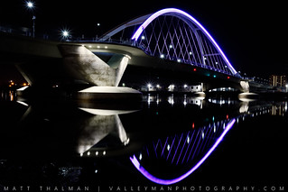 Lowry Bridge Angle Reflection for Prince