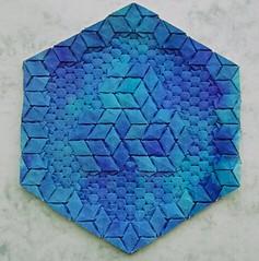 Om - Alessandro Beber (Monika Hankova) Tags: origami tessellation