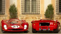 Ferrari 330 P4 '67_Villa Celimontana (Dunc@n340) Tags: celimontana caelius rome italie ferrari p4 granturismosport gts scapes