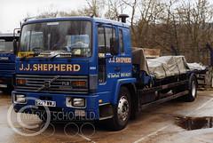 E227WWJ VOLVO FL617 J J SHEPHERD (Mark Schofield @ JB Schofield) Tags: jim taylor transport road commercial vehicle lorry truck wagon tipper tanker artic eight wheeler haulage contractor bulk haulier tractor unit