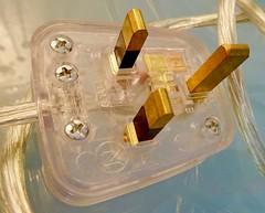 Perspex Power (Pufalump) Tags: macromondays plugsandjacks macro transparent wire electricity perspex