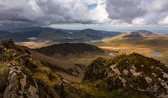 Up on the roof (Phil-Gregory) Tags: national naturalphotography naturephotography nationalpark snowdonia snowdon view nikon d7200 tokina wideangle ultrwide vista scenicsnotjustlandscapes landscapes ngc wales