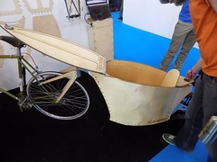 Spin Bike Show 17-05-12 (55) (Funny Cyclist) Tags: bike bicycle cycle velo bici rad radfahrad show 2017 hall olympia blue steel parts