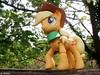Applejack (JoeyDee83) Tags: my little pony mlp hasbro vinyl toy applejack brony