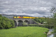 Crossing the River Aire. (thrimby2002) Tags: gargrave 67027