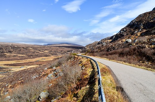 On the road to Durness