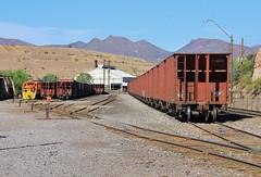 Miami Miners (BravoDelta1999) Tags: arizonaeastern azer railroad southernpacific sp railway miami arizona yard emd gp8 1530 1529 copper train