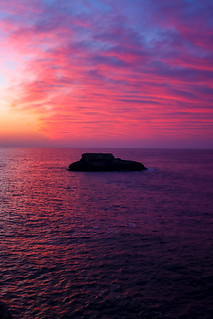 Sunrise over Cala D'or, Mallorca.