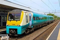 Arriva Trains Wales 175005 (Mike McNiven) Tags: manchester airport arriva eastdidsbury llandudno warrington bankquay dmu