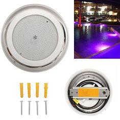 AC12V 35W 441 LED RGB Stainless Steel Swimming Pool Light (1277350) #Banggood (SuperDeals.BG) Tags: superdeals banggood lights lighting ac12v 35w 441 led rgb stainless steel swimming pool light 1277350