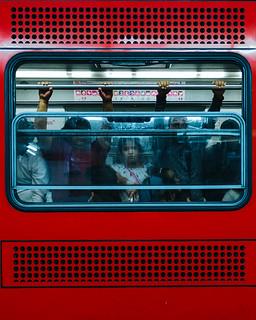 Inside Mexico City Subway