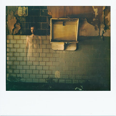 Ghost (///Brian Henry) Tags: abandoned polaroid instant film polaroidweek roidweek roidweek2018 decay hospital ghost