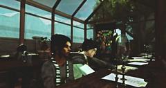 .herbology (Aced Acid) Tags: xinyen simpkintaylor roleplay school herbology greenhouse plants hufflepuff slytherin brothers teenagers men avatars sl secondlife harrypotter fantasy urbanfantasy modernfantasy uniform class ison mud truth izzie genesislab lelutka mischiefmanaged