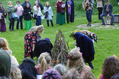 P1020876 (Ginger Ren) Tags: glastonbury beltane pagan wicca druid tor chalice well ritual