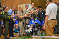 20180504-SLORegional-Opening-LETR-Athlete-JDS_9882 (Special Olympics Southern California) Tags: bocce cuestacollege letr openingceremony regionalgames sosc sanluisobispo schoolgames sheriffsdepartment southerncalifornia specialolympics springgames swimming trackandfield unifiedbasketball youngathletes
