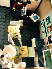 Dentist... (valeolligio) Tags: black fabuland thelegomovie tlm minifigures collectable collectableminifigures modularbuilding building modular movie city square assembly assemblysquare dentist 2018 lego