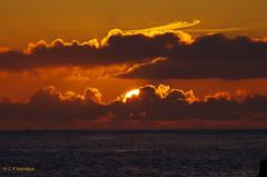 IMGP3107a_C (Kernowfile) Tags: cornwall stives sunset sky clouds water rocks sea pentax