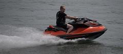 Joy Ride (Scott 97006) Tags: man recreation fun water river travel speed seadoo