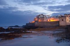 Essaouira (Mogador). Morocco (Ed.Moskalenko) Tags: essaouira mogador morocco sea seascape morning bluehour atlantic ocean fortress tower wall tourism travel