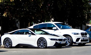 White BMW combo